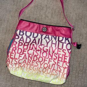 Rare Vintage LuLuLemon Overnight Bag